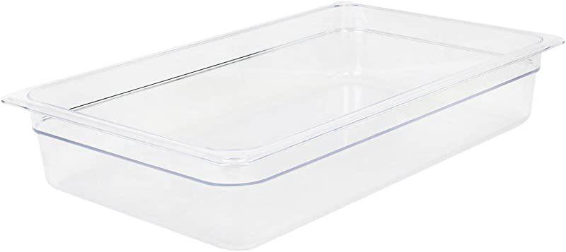 Excellante 849851006942 Deep Polycarbonate Food Pan 4 Full Size