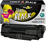 Yellow Yeti Q2612A 12A (2000 pagine) Toner compatibile per HP LaserJet 1010 1012 1015 1018 1020 1022 1022n 1022nw 3010 3015 3020 3030 3050 3052 3055 M1005 MFP M1319f MFP
