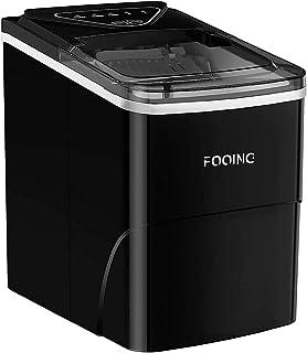 FOOING Machine à glaçonsMachine Glacon Ice Machine prête en 6 Minutes Machine Glacon Kube 2L avec fonction d'autonettoyage...