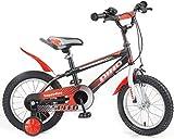 GZCC Bicicletas Bicicleta para niños Bicicleta para bebés Bicicleta para niños Triciclo de Interior Ejercicio al Aire Libre Triciclo para niños 14/16 Pulgadas Bicicleta para niños y niñas