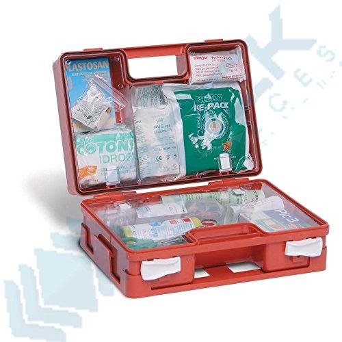 Mar Plast A67611C2M Erste-Hilfe-Koffer, klein, weiß, 320 x 230 x 130mm