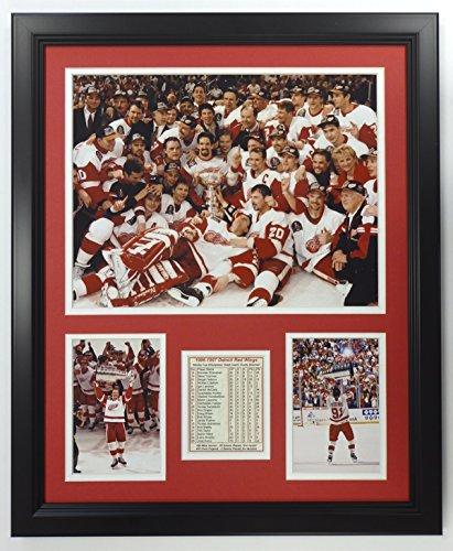 Chris Osgood Detroit Red Wings NHL Framed 8x10 Photograph 2008 Stanley Cup Finals Goal Cam