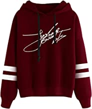 Cianowegy Kpop BTS Sweatshirt Active Fashion Hooded Hoodie Jungkook Signature Pullover for Women