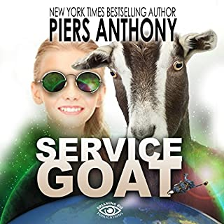 Service Goat                   By:                                                                                                                                 Piers Anthony                               Narrated by:                                                                                                                                 Corrie Legge                      Length: 3 hrs and 13 mins     2 ratings     Overall 4.0