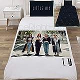 Little Mix Bettwäsche-Set, Polyester, Mehrfarbig, Einzelbett