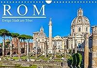 Rom - Ewige Stadt am Tiber (Wandkalender 2022 DIN A4 quer): Rom - Wiege der europaeischen Kultur und Zentrum der Christenheit (Monatskalender, 14 Seiten )