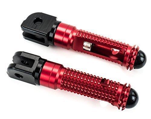 COURSE Repose-pieds Alu CNC Kawasaki VERSYS 1000 LZT00A 2012-2014 rouge