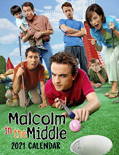 Malcolm in the Middle 2021 Calendar: Malcolm in the Middle 2021 Calendar 8.5x 11 inches