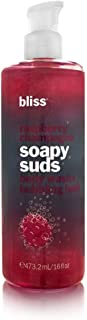 Bliss Raspberry Champagne Soapy Suds Body Wash and Bubbling Bath 473.2ml/16oz