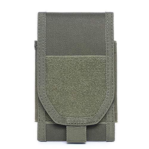 Pvnoocy Taktische Handy-Holster, EDC MOLLE Pouch Gürtel 1000D Handy Holster Gürtel Taille Tasche Case für 4,7-6,3 Zoll Smartphones