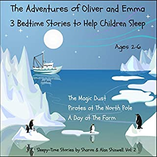 The Adventures of Oliver and Emma: 3 Bedtime Stories to Help Children Sleep audiobook cover art