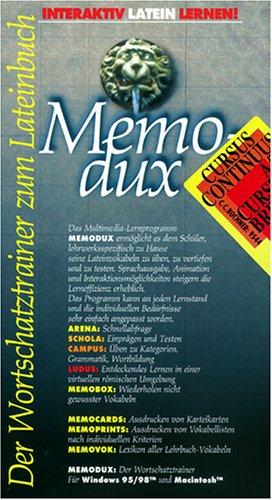 Memodux. Cursus Continuus A/ B. Cursus Brevis. CD- ROM für Windows 95/98/ MacOS ab 7.6. [import allemand]