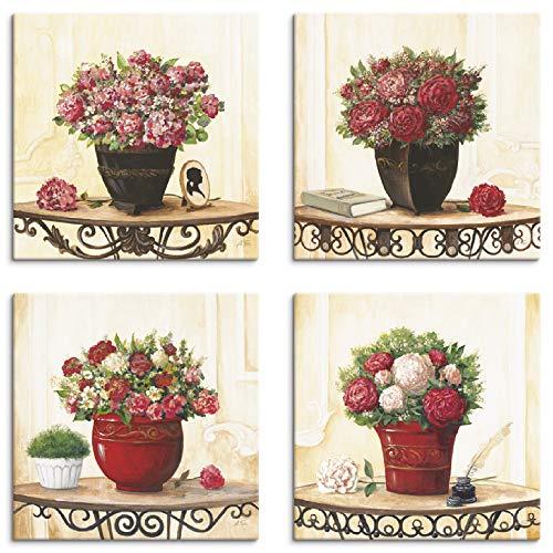 hortensien bilder auf leinwand