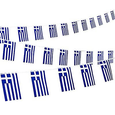 5ft x 3ft Greece Greek Material Flag