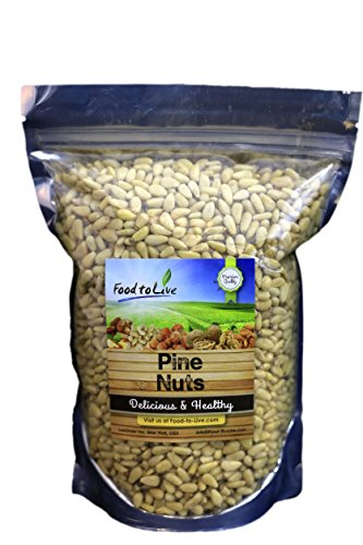 Shelled Pine Nuts (3 One Pound Bags)
