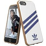 Adidas Originals Samba - Carcasa para iPhone 8, 7, 6S, 6, Color Blanco
