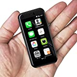 Ytwtech Mini Smartphone, 3G Dual SIM 2.4 Inch Tiny Mobile Phone 1G+8G 5.0MP High Definition Kids Phone Unlocked Pocket Backup Cellphone (Black)