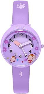 Hemobllo Kids Quartz Watch Waterproof Cartoon Watch Wrist Watch for Unisex Boys Girl Kids Child Purple