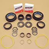 AXLE BEARING SEAL AND SMALL PARTS KIT - COMPATIBLE WITH FORD SUPERDUTY DANA 50 60 99-04