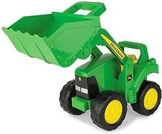 John Deere Big Scoop Tractor Toy with Loader, 15-Inch