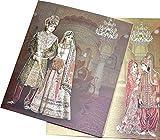 Indian Wedding Market IWM-0128 Designer Wedding Invitation Card (50 Pcs)