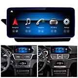 Road Top Android 10 Car Stereo 10.25' Car Touch Screen for Mercedes Benz E Class S212 W212 E200,E250,E300,E350,E400,E500,E550,E63 AMG 2009-2014 Year,Built in Wireless Carplay Split Screen 4GB RAM