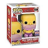 Funko Pop! Il ballerino del ventre dei Simpson Homer 1144 FunKon 2021 Summer Convention condiviso in esclusiva