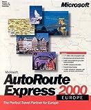 Microsoft Autoroute Express 2000 Europe -