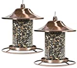 Perky-Pet Copper Panorama Bird Feeder 312C (2-(Pack))