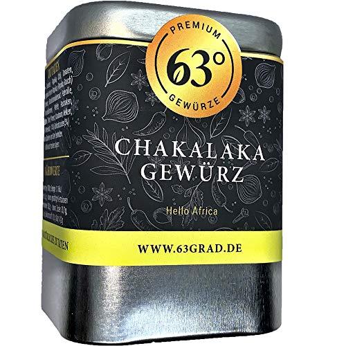 63 Grad - Chakalaka Gewürz - Scharfe, afrikanische Gewürzmischung (90g)