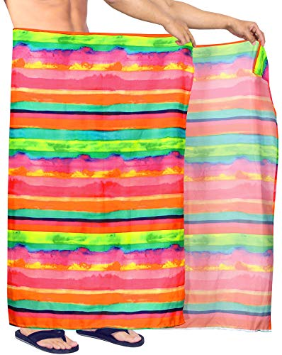 Happy BAY heren-strand sarong afdekking badkleding inpakken Pareo 78