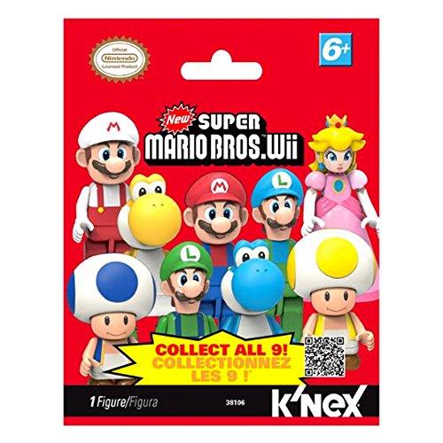 super mario brothers blinds K'NEX: Nintendo Super Mario Bros. Wii Blind Bag Mini Figure (Series 1)