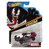 Hot Wheels%カンマ% Marvel Character Car%カンマ% Venom #6%カンマ% 1:64 Scale [並行輸入品]