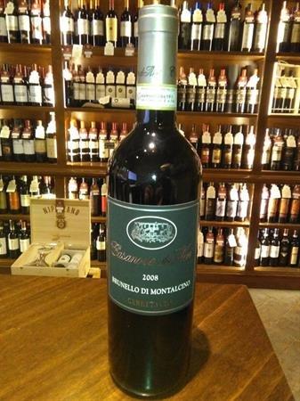 Brunello di Montalcino DOCG 2008 Lt 0,750 Cerretalto Vini di Toscana