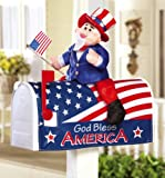 Uncle Sam Mailbox Cover