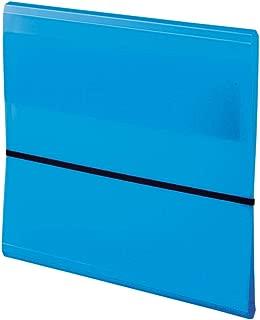 LIHIT LAB. 文件夹 10 隔层 本体サイズ:270x320x10mm 蓝色