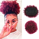 Court Rouge Afro Puff Synthétiqu...