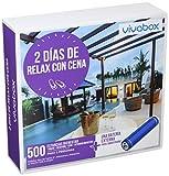 VIVABOX Caja Regalo -2 DÍAS DE Relax con Cena- 500 estancias. Incluye un Regalo
