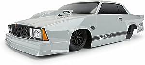 Pro-line Racing 1/10 1978 Chevrolet Malibu Tough-Color Gray Body: Drag Car, PRO354914