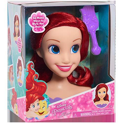 Styling Disney Princess Ariel Mini Head