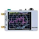 Feixunfan Analizador de Antena Handheld Vector Network Analyzer 50kHz-900MHz ShortWave MF HF VHF UHF Analizador De Antenas De La Antena Ondas Analizador de Espectro (Color : White, Size : One Size)