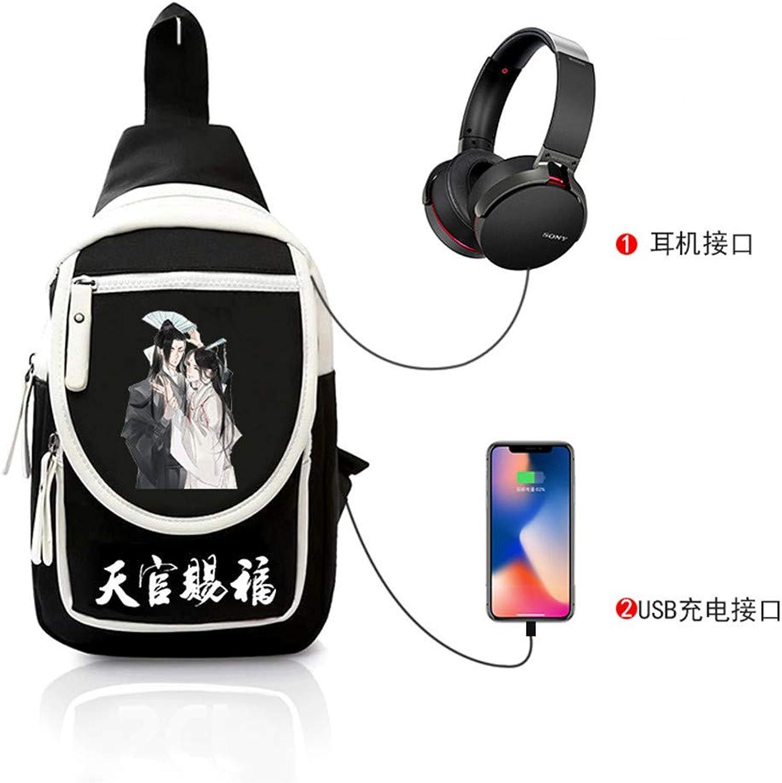 Brusttasche Sling Rucksack Schultertasche Brusttaschen Brusttaschen Brusttaschen für Damen und Herren Anime Daypack Sporttasche B07PGDTYJB  Jugend überschwemmen 4d5e59