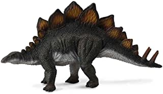 CollectA Stegosaurus Toy Dinosaur Figure - Authentic Hand Painted & Paleontologist Approved Model