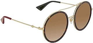 Round Havana Ladies Sunglasses GG0061S 013 56