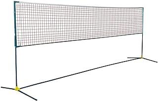 Red de tenis Redes Soporte De Tenis Plegable Bádminton Estante De Red Portátil Estante De Bádminton Ligero Plegable Portátil Estándar Al Aire Libre (Color : Black, Size : Net Width=610cm)
