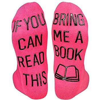 HAPPYPOP Book Reading Ankle Socks-Teacher Nerd Librarian Book Lover Bookworm Gift
