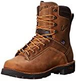 Danner Men's Quarry USA 8 Inch Work Boot,Distressed Brown,12 EE US