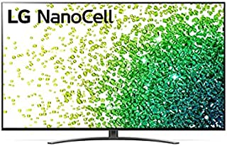 تلفزيون 65 بوصة من ال جي بدقة عرض ريل 4 كيه سلسلة 86 ومعالج ايه 7 من الجيل الرابع بتقنية نانو للالوان، شاشة سينما - 65NANO...