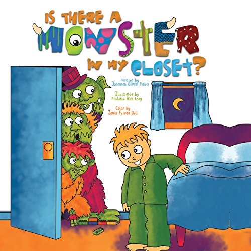 Is There a Monster in My Closet? audiobook cover art