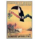 """1930s """"Hamburg America Line"""" Vintage..."""